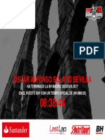 Diploma Madrid Segovia