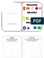 Tracing Shapes Booklet