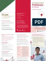 267557 Folleto Cambridge English Preliminary for Schools