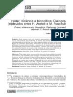 poder violência e biopolítica