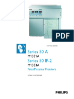 Philips 50 Fetal Monitor - Service Manual