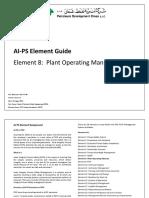 AI-PS Element Guide No 8