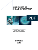 Plan de Area de Tecnologia e Informatica 2016