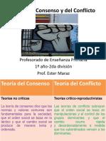 Teorias Del Consenso y Del Conflicto
