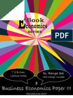 TY BCom Business Economics III b