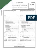 [VDI 2886-2003-09] -- Benchmarking in Der Instandhaltung