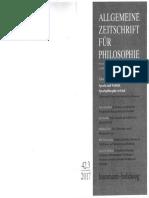Allgemeine Zeitschrift für Philosophie