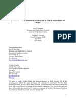 Woker Investment in Safety IZA Ziebarth n3187