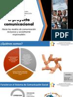 Presentación Proyecto Comunicacional 2016