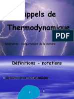 chapitre   I     Rappels Thermo.pps