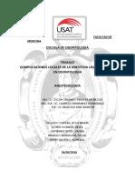 Complicaciones Locales de La Anestesia Locorregional en Ondontología (1)