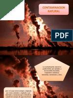 contaminación natural