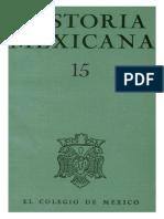 Historia Mexicana 015 Volumen 4 Numero 3.pdf