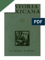 Historia Mexicana 063 Volumen 16 Numero 3.pdf