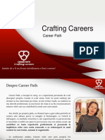 Prezentare Crafting Careers Pt Caiet