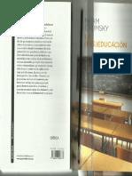 CHOMSKY La (Des)Educación. Chomsky
