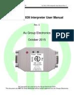 Au J1939 Interpreter UserManual RevE 2015-10-16