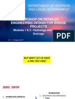 Modules 1 and 2Bridge Hydrology and Hydraulics