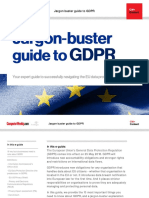 Jargon Buster Guide to GDPR