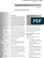 Swine Flu Briefing Document