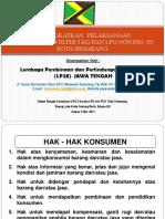 Materi Sosialisasi Gas Elpiji Di Kota Semarang - 9 Mei 2017