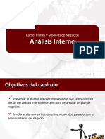 Analisis Interno UPC