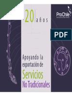 Servicios 20 Años de Apoyo ProChile