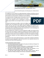 Subsea System Engineering Report Guidelines
