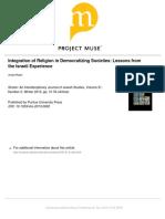Rubin, A Integration of Religion in Democratizing Societies Israel Experience