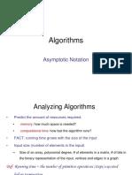 1 Asymptotic Notation -Algorithms (series lecture)