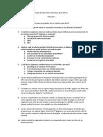 Primera Guía de Ejercicios Sistemas Operativos