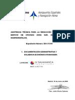 Sobre Nº 1 - Documentación Administrativa