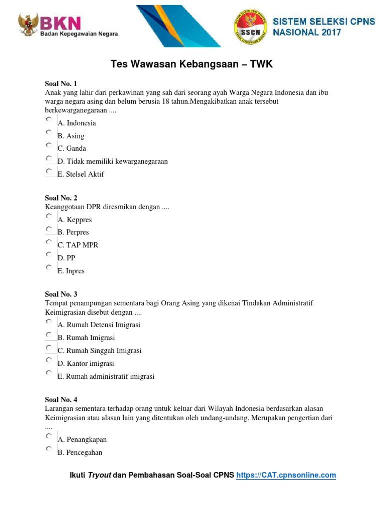 Contoh Soal Cpns Matematika Dan Jawabannya Contoh Soal Terbaru