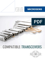 MICROSENS Compatible Transceivers en Web