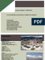 Huancayo-ppt Planinificacion urbana territorial