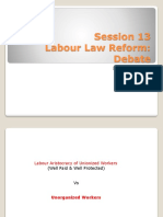 Reforms in Labour Law India
