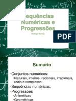 8 - Sequências Numéricas e Progressões