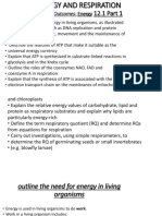 Energy and Respiration Part 1