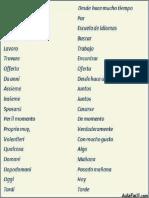 Expresiones en Italiano - Español