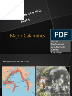 CALAMITIES IN PHILIPPINES