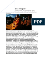 Is Buddhism a Religion