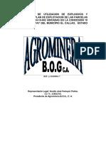 13.- METODOLOGIA DE UTILIZACION DE EXPLOSIVOS DE AGROMINERA BOG.pdf