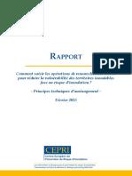 CEPRI Rapport Principe Amenagt