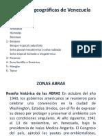 Zonas Fitogeográficas de Venezuela