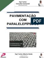 Pavimentação Com Paralelepípedos