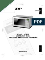 Manual Del Usuario Microhondas Sharp
