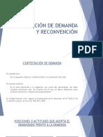 Contestación de Demanda y Reconvención