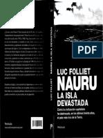 FOLLIET Nauru, La Isla Devastada [R] [SXX] [SXXI] [HisCon] [Imperialismo] [Nauru] [Oceanía]