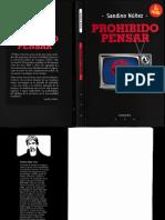 NÚÑEZ Prohibido Pensar [R] [SXXI] [Filosofía] [Uruguay] [Posmodernismo].pdf