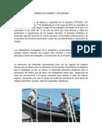 Normas de Higiene y Seguridad Industrial